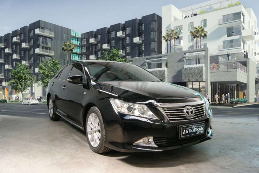 All New Camry 2.5 V AT 2014 nopol L 0