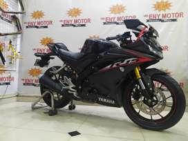 BLACK GLOSSY,YAMAHA R15 V3 2020 KM 6RB - ENY MOTOR