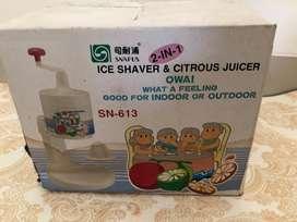 Snapus ice shaver