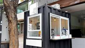 cicilan usaha kredit franchise es kopi container booth,cuma DP 500rb