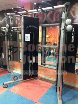 Complete new Commercial Heavy duty gym equipment setup.