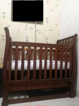 Box Bayi Kayu Asli