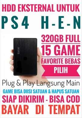 HDD 320GB FULL 15 Game Terlaris PS4 Harga Terjangkau Murah Bebas Pilih