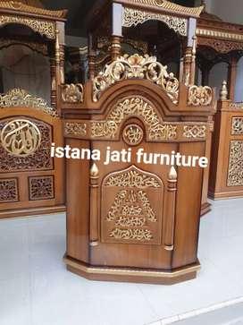 Mimbar masjid khutbah masjid podium mimbar