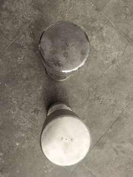 7.5×2 kg dumbells