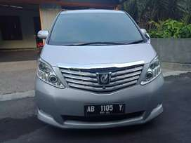 Toyota Alphard CBU Premium Sound Km 53rb Super Istimewa