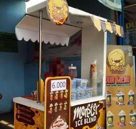 franchise bekas monster blend,cocok untuk karyawan lg libur bisa cicil