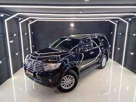 Fortuner 2.7 G Lux bensin th 2014 Hitam km51rb Lgs Terima Nama Pembeli