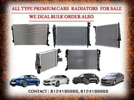 '''ALL TYPE PREMIUM CARS RADIATORS AVAILABLE FOR SALE: