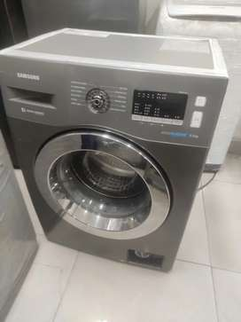 Samsung front load 6.5 kg grey colour fully automatic 12000 pm