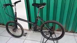Sepeda lipat zaman dulu