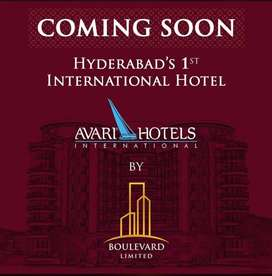 Boulevard 4 Star Hotel Shops & Commercial Units For Sale In Hyderabad.