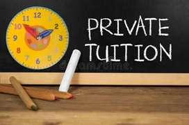 Personal tutor upto class-8