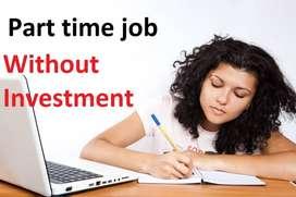 Home base work data entry job typing job online /offline work 7