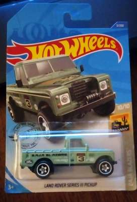 Hot Wheels Land Rover Series II Pickup