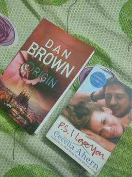 Origin-Dan Brown And p.s.I Love You by Cecelia Ahern