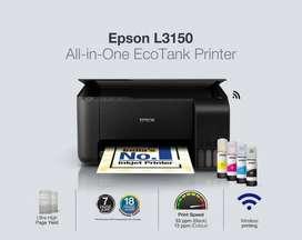 printer epson l3150 , ready ka