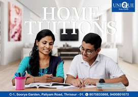 HOME TUITION AVAILABLE AT THRISSUR