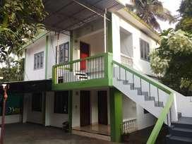 Upstair house in kakkanad sunrice hospital.