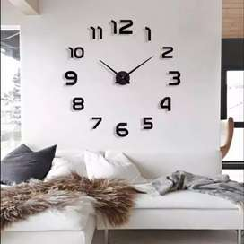 Giant clock angka