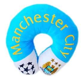 Boneka Bantal Leher Club Bola Manchester City