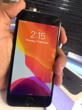 Iphone 7 matte black 32gbokay condition
