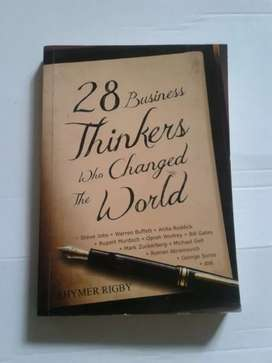 28 Business Thinker Who Change The World