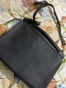 Laptop bag cm files folder bag with many zips and pockets