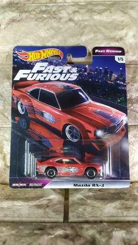 Hot Wheels Mazda RX 3 HotWheels Fast & Furious
