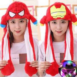Topi Kelinci Super Hero