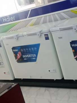 Deep  freezer of haier brnad for all lahr free delivery