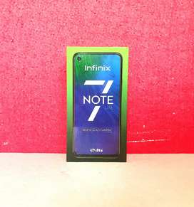 1504 Top Brand New Infinix Note 7 Lite 4/128gb