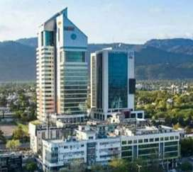 Corporate office space available for rent in ISE Towers blue area Isb