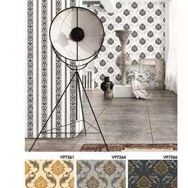 Wallpaper vinyl desain minimalis 100.13d