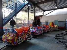 odong kereta panggung lantai mini coaster murah DCN