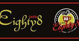 CHEF required at cafe eighty 8 lahore