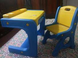 Imported study table and chair