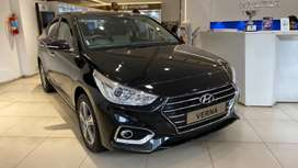 Hyundai Verna 1.6 SX VTVT AT, 2019, Petrol
