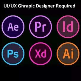 Graphics Designer (UI/UX)