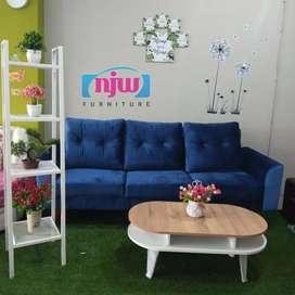 Sofa big 3D majesto blue