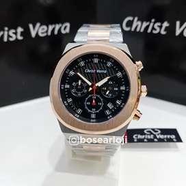 Jam Tangan Christ Verra CV 10458 Dial Black