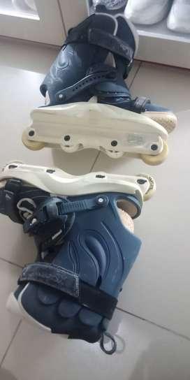 Aggressive Inline Skate Xsjado Avant III warna biru NEGO sampe deal