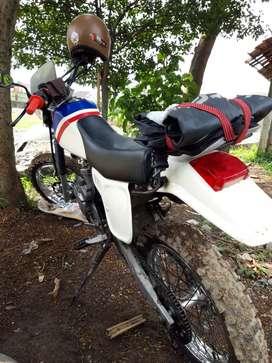 Honda trail megapro custom xr, stater jalan, mesin joss baru semua