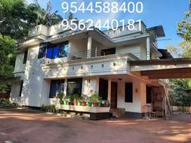 28 Cent Plot With 3500 Sq. Ft 6 BHK House in Kollam Kavanad