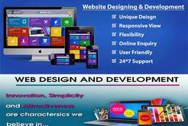 Domain Hosting Website Development Package in 8,000 Only
