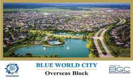 Commercial Plot (File) Overseas Block, Blue World City, Islamabad