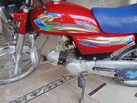 United 70 model 2018 sell or exchange possible with   honda 125