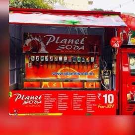 Planet Soda automobile machine