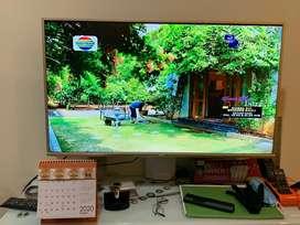 TV LED AKARI 42inch 4289T2 warna Emas Gold Limited edition Sperti Baru