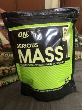 Optimum Nutrition On Serious Mass Gainer 2.2 Lbs 1000g